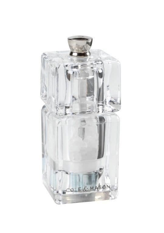 Cole & Mason Mini Cube Salt Mill - 90mm